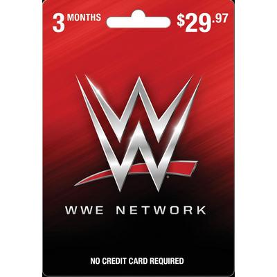 WWE Network 3 Month Card