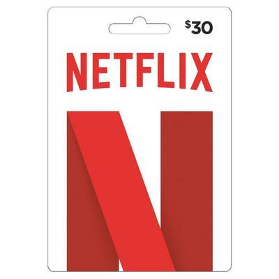 Netflix $30 Card