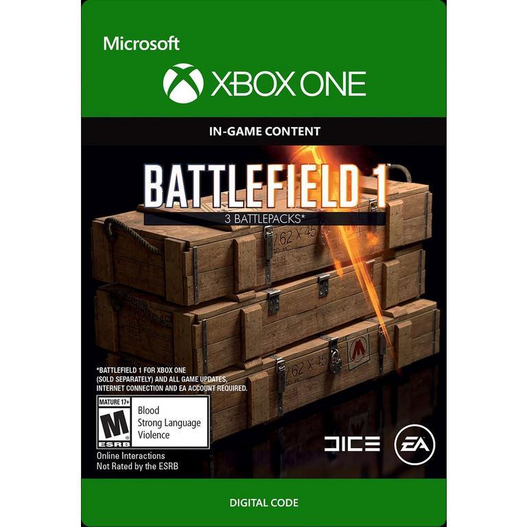 Battlefield 1 - Battlepack x3