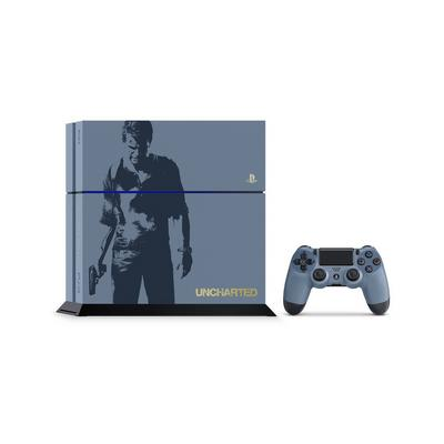 PlayStation 4 Limited Edition Uncharted 4 500GB System (GameStop Premium Refurbished)