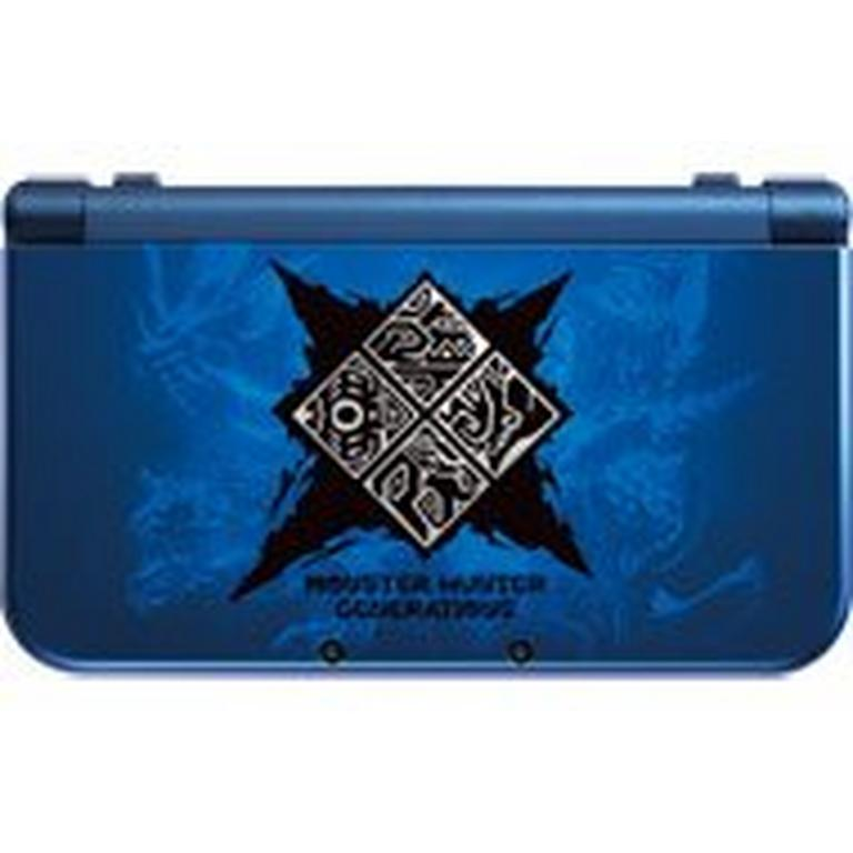 New Nintendo 3DS XL Monster Hunter Generations GameStop Premium Refurbished