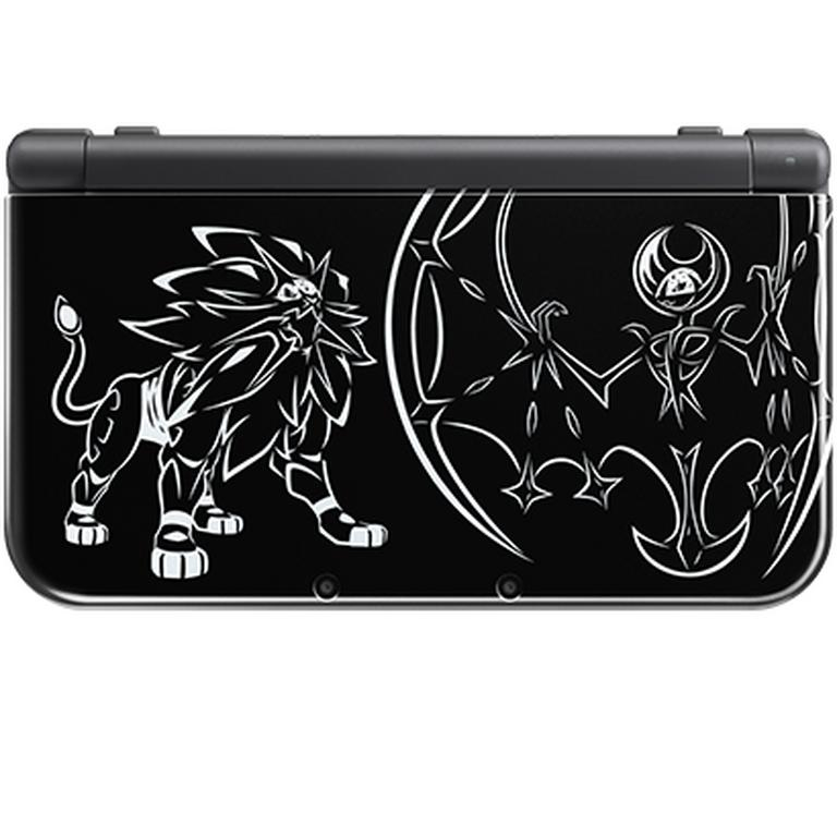Nintendo New 3DS XL Pokemon Solgaleo Lunala Black Edition (GameStop Premium Refurbished)