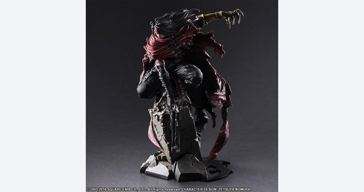 Final Fantasy VII Vincent Valentine Static Arts Gallery Statue
