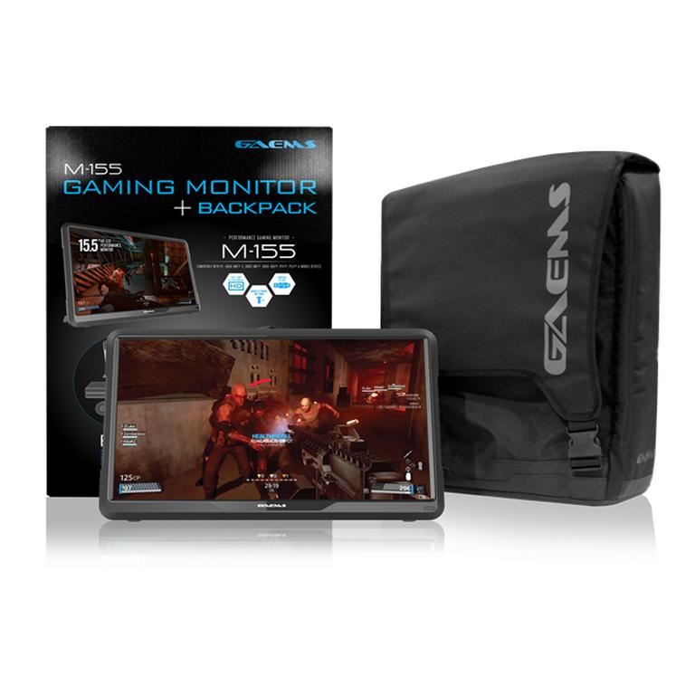 M-155 Performance Gaming Monitor with Backpack