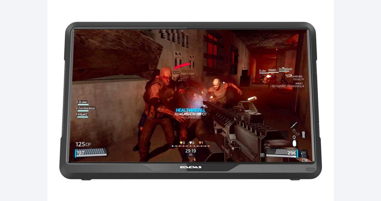 M155 Performance Gaming Monitor with Backpack