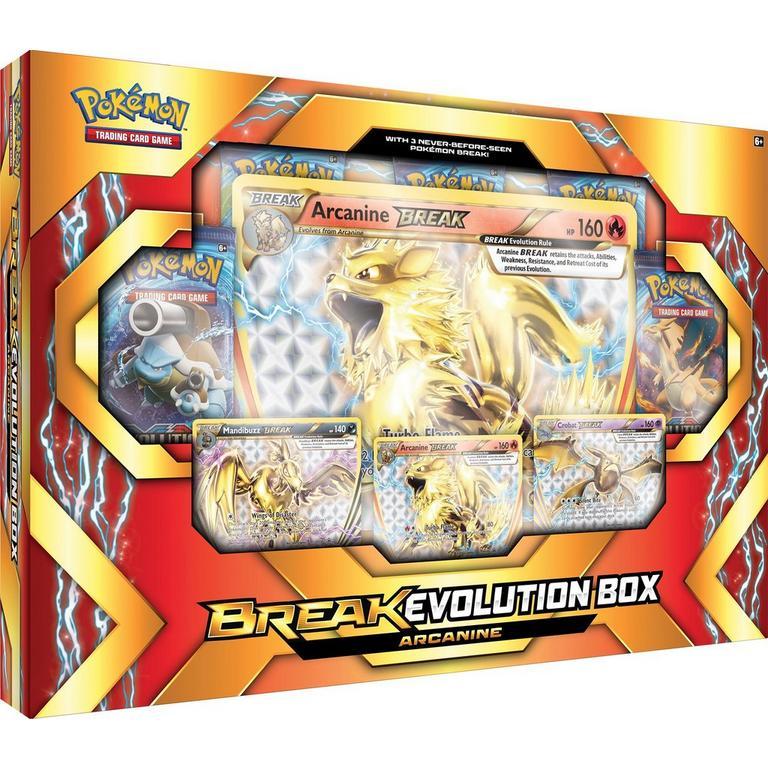 Pokemon Trading Card Game Break Evolution Arcanine Box