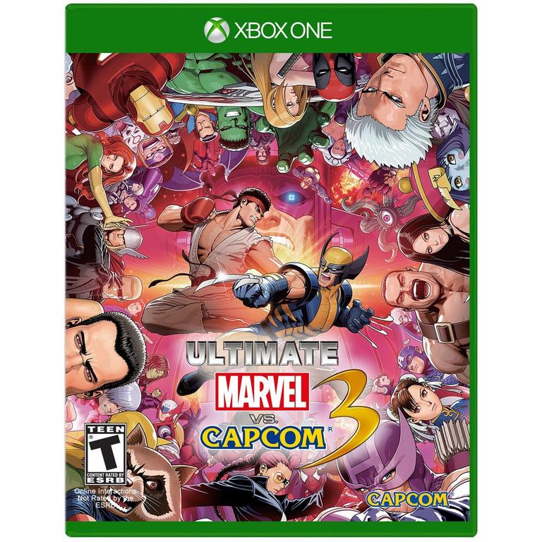 Ultimate Marvel vs Capcom 3 Only at GameStop