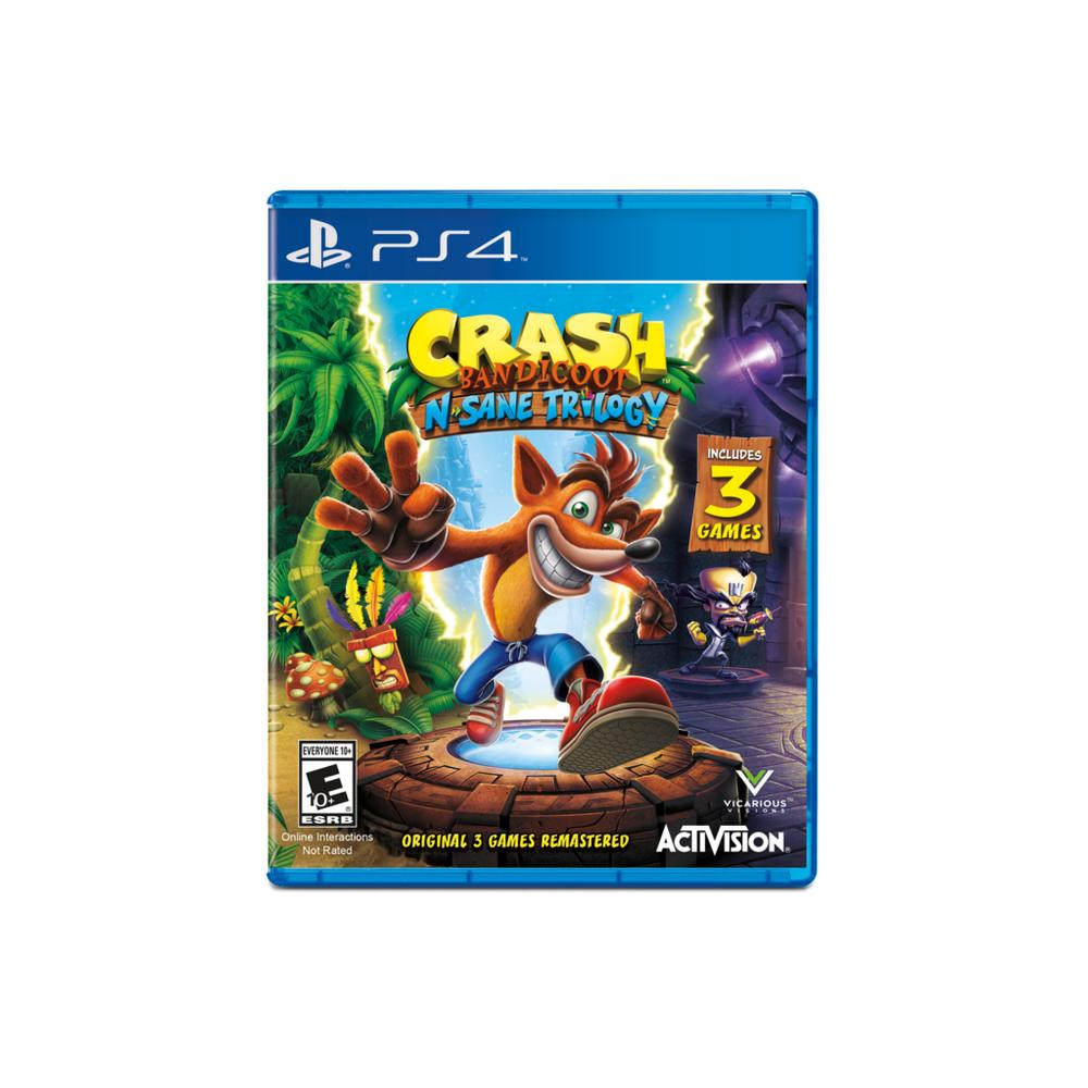 Crash Bandicoot N  Sane Trilogy | PlayStation 4 | GameStop
