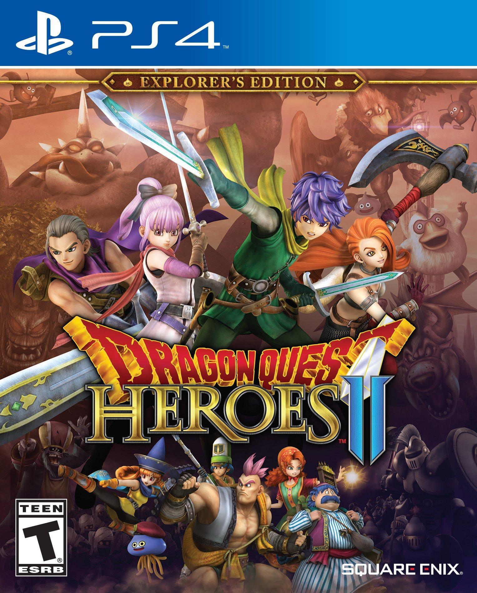 Dragon Quest Heroes II   PlayStation 4   GameStop