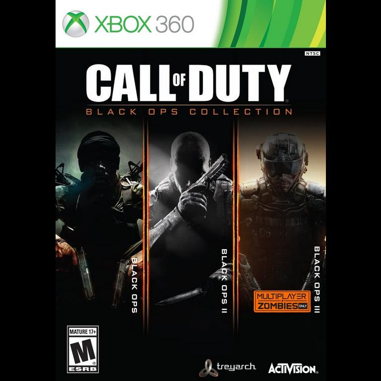 Call Of Duty Black Ops Collection 1 3 Xbox 360 Gamestop
