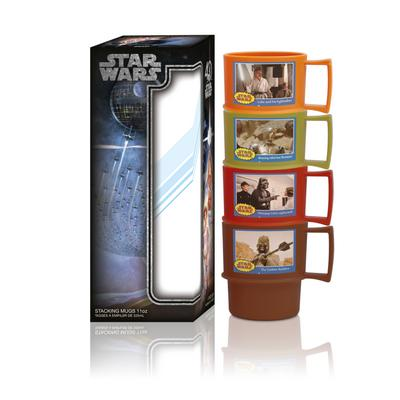 SW 40th Anniversary Retro Stack Mugs