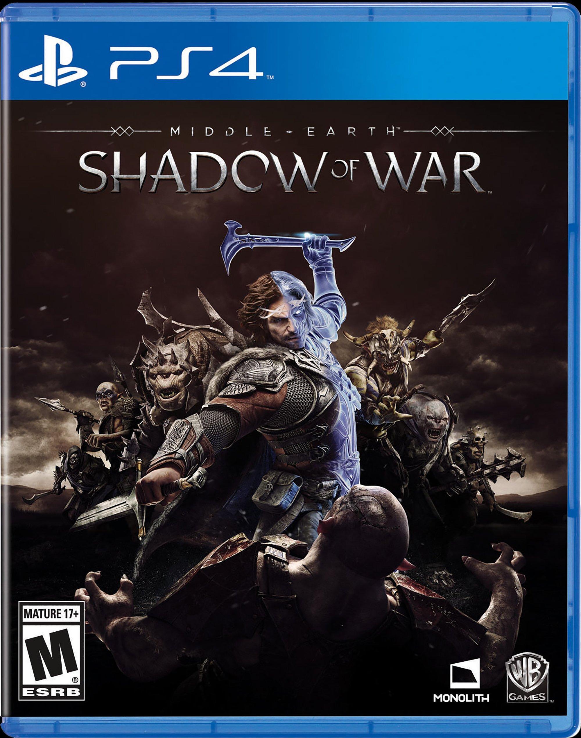 Middle-earth: Shadow of War   PlayStation 4   GameStop