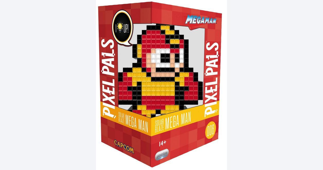 Pixel Pals: Solar Blaze Mega Man
