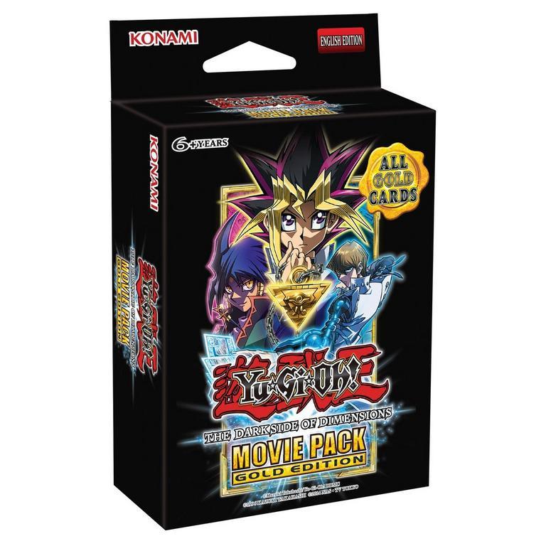 Yu-Gi-Oh! Movie Gold Booster Packs