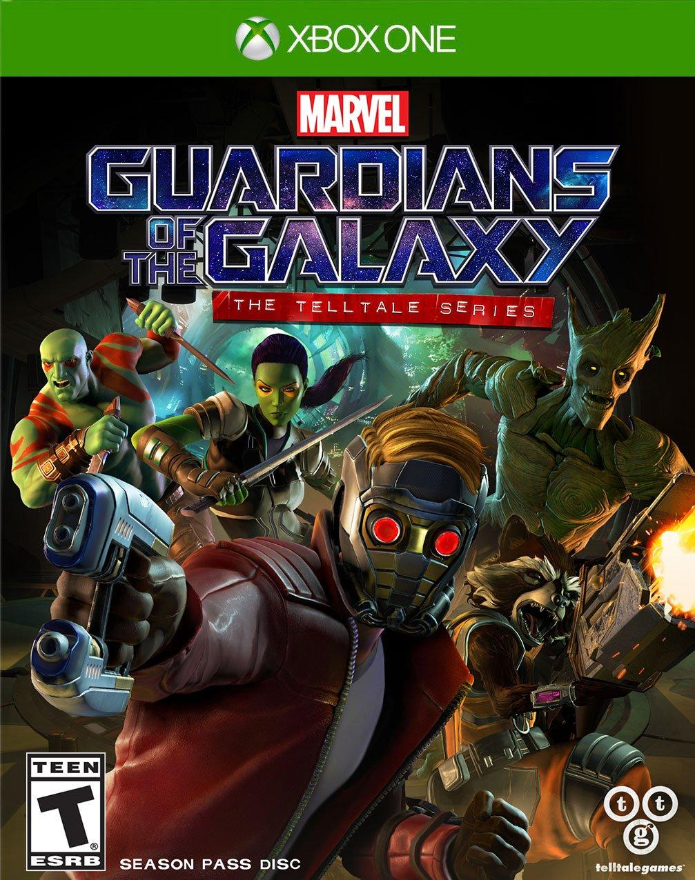 Marvels Guardians Of The Galaxy The Telltale Series Xbox One Gamestop