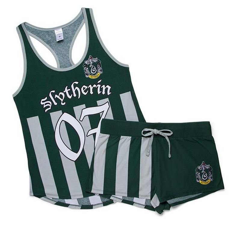 Harry Potter Quidditch Jersey Tank and Shorts Sleep Set