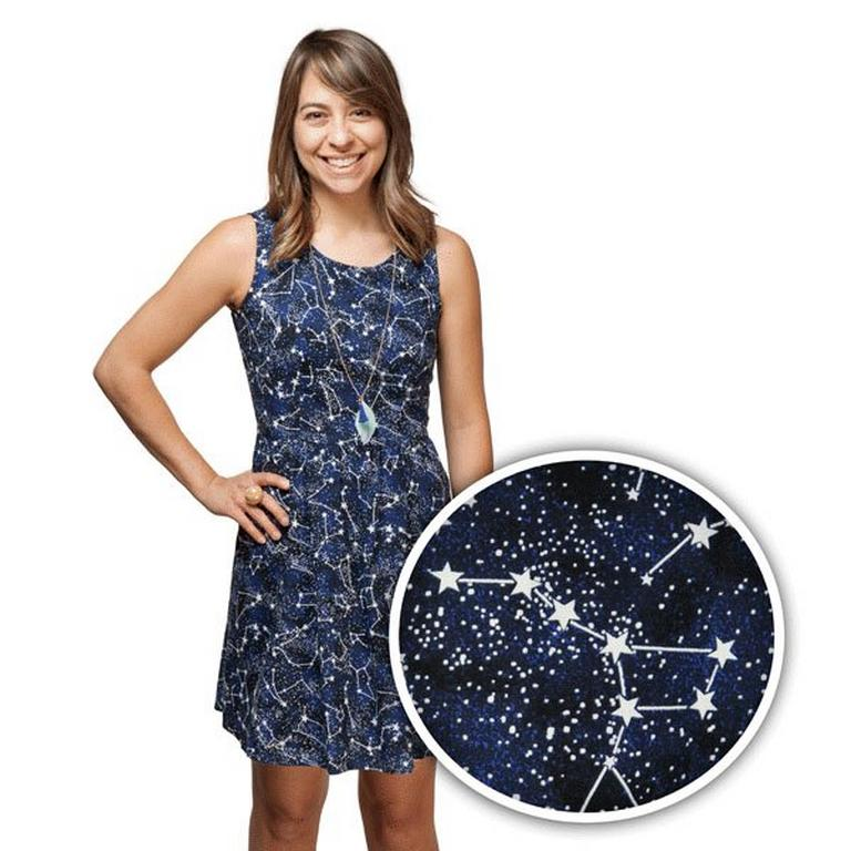 Constellation Glow in the Dark Dress