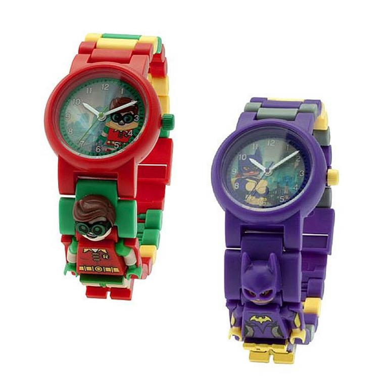 The LEGO Batman Movie Robin Minifigure Link Watch