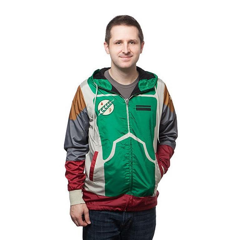 Star Wars Boba Fett Windbreaker Windbreaker Jacket