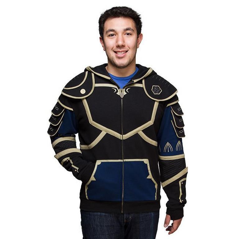 Warcraft Lothar Armor Hoodie