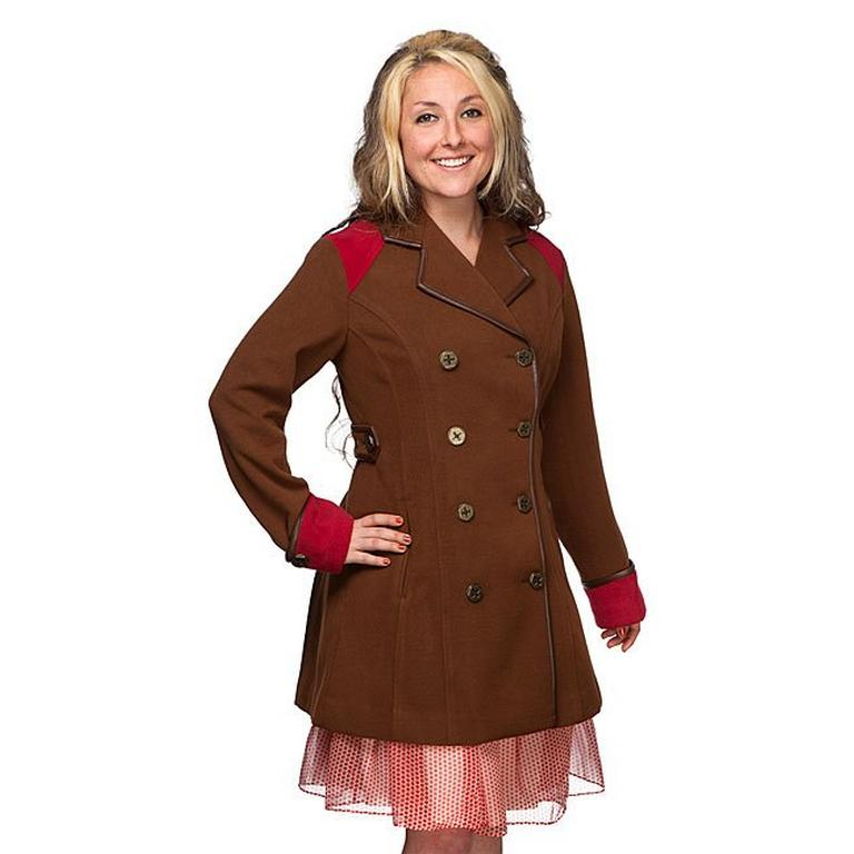 Captain Jules's Ladies Steampunk Peacoat