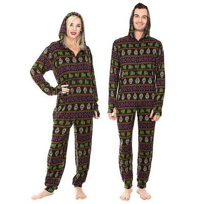 Joker Fair Isle Hooded Lounger