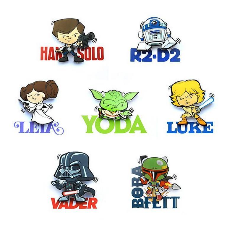 Star Wars Wall Character Mini Wall Lights Han Solo