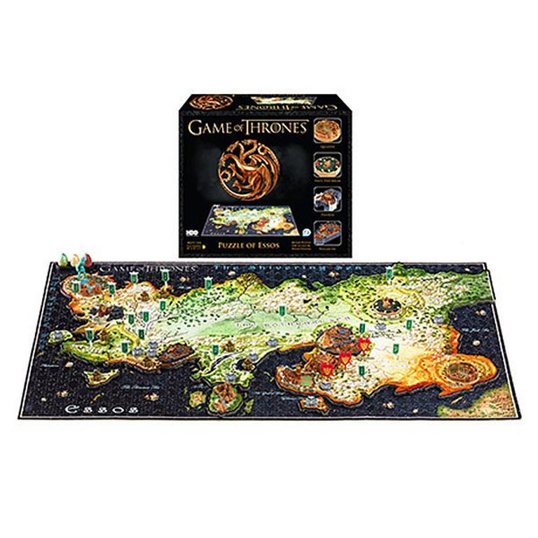 Game of Thrones 3D Map of Essos Puzzle Game Of Thrones D Map Westeros Puzzle on crown lands map game of thrones, detailed map of westeros game of thrones, google map game of thrones,