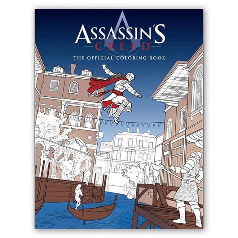 Assassin's Creed Official Coloring Book