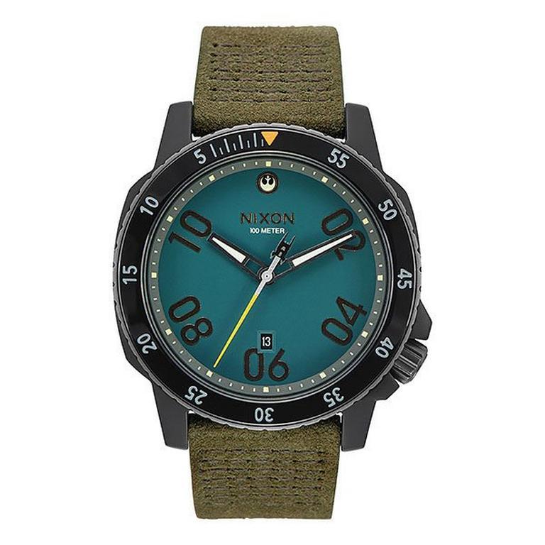 Star Wars Cassian Andors Rebel Alliance Nixon Ranger Leather Watch