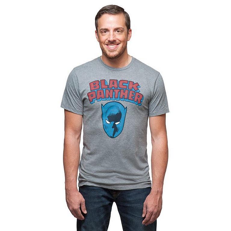 Black Panther Comic Mash T-Shirt