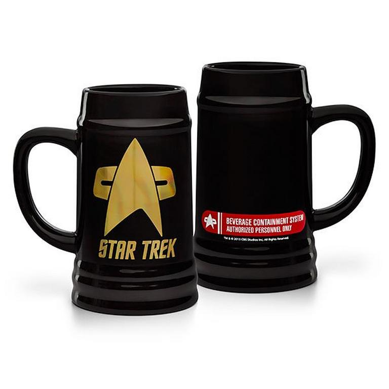 Exclusive Star Trek Logo Stein