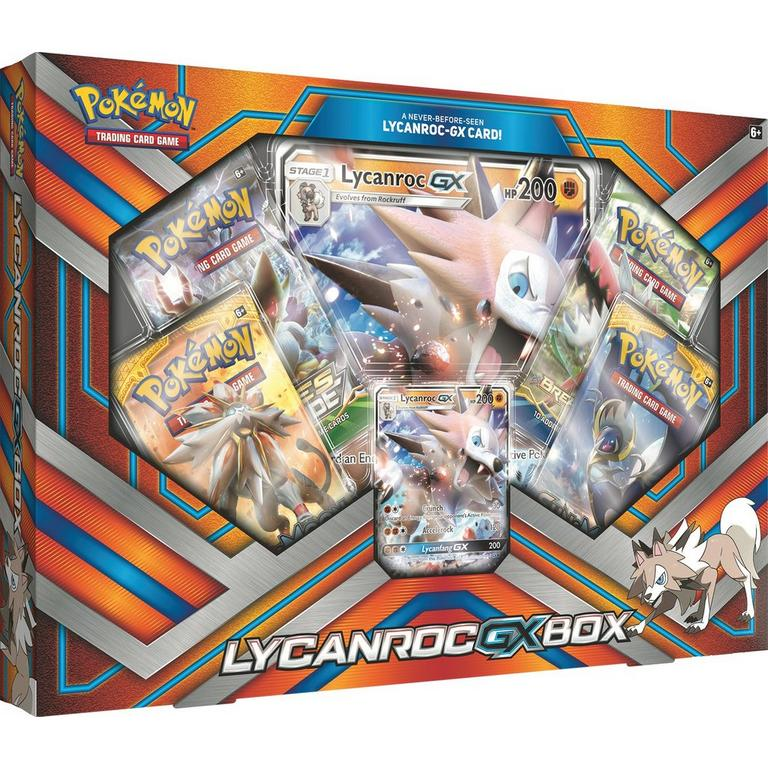Pokemon Trading Card Game: Lycanroc GX Box