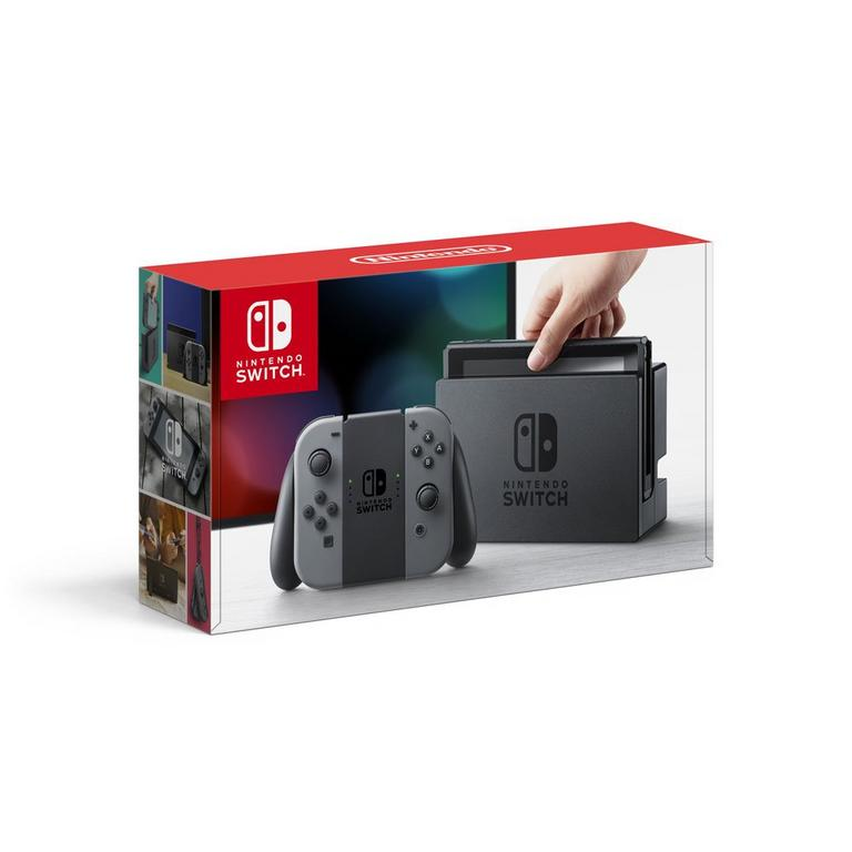 Nintendo Switch Console w/ Grey Joy-Con Available At GameStop Now!