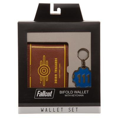 Fallout 4 Bifold Wallet Gift Set