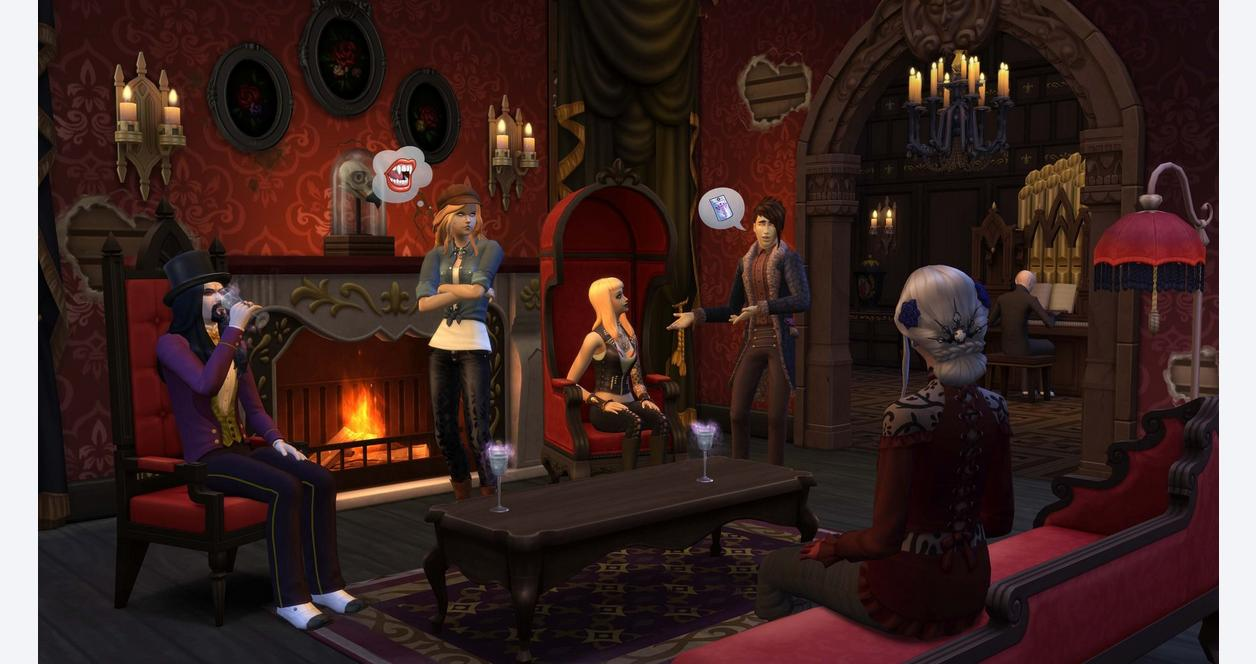 The Sims 4: Vampires Pack