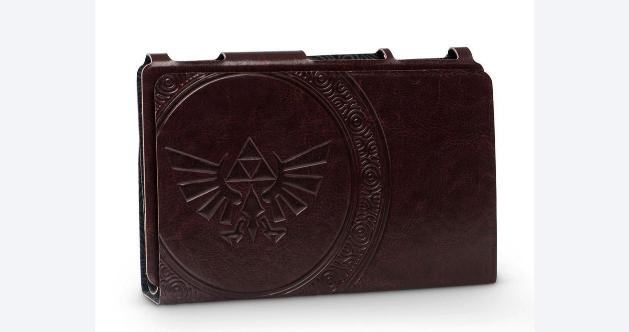 Nintendo Switch Hybrid Cover - Zelda Hylian Crest Leatherette