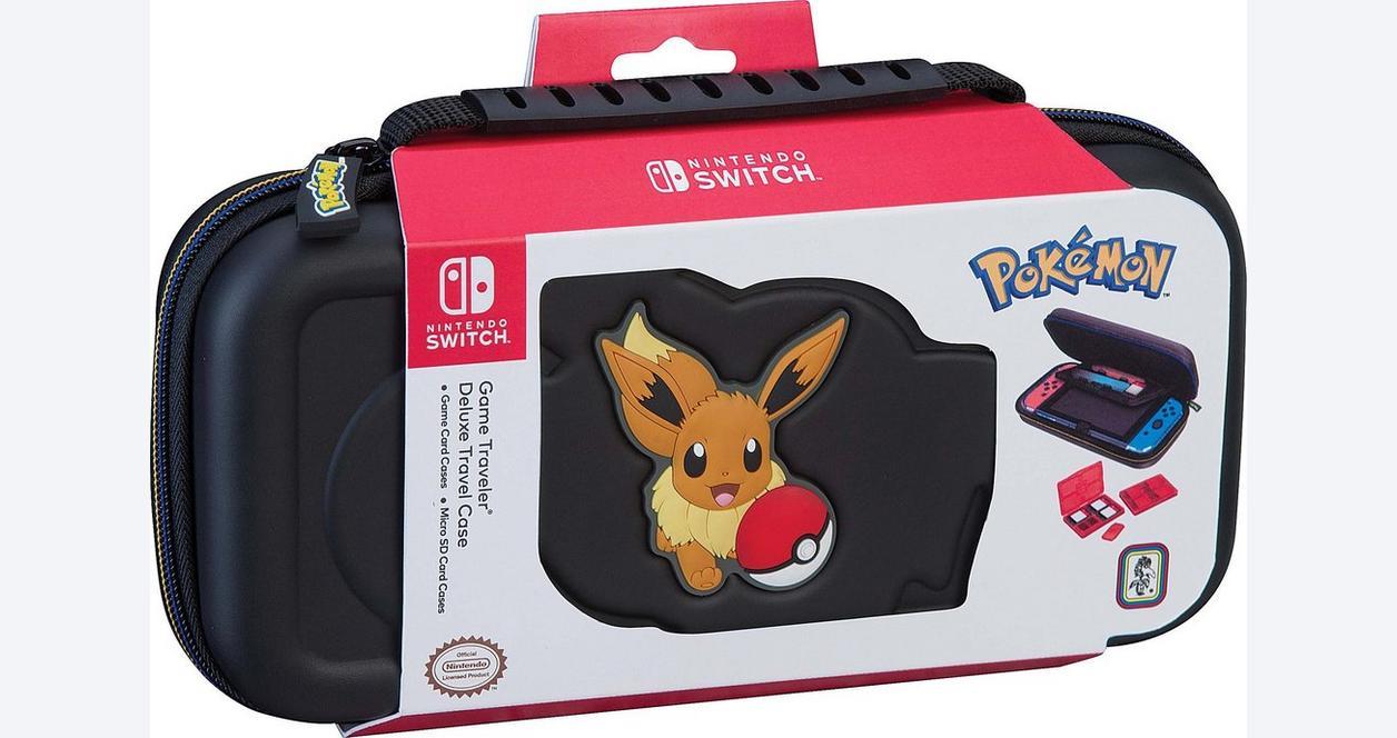 Nintendo Switch Pokemon: Let's Go! Pikachu Game Traveler Deluxe Case