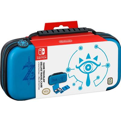 Nintendo Switch Game Traveler Zelda Blue Deluxe Travel Case