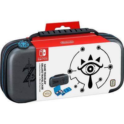Nintendo Switch Game Traveler Zelda Black Deluxe Travel Case