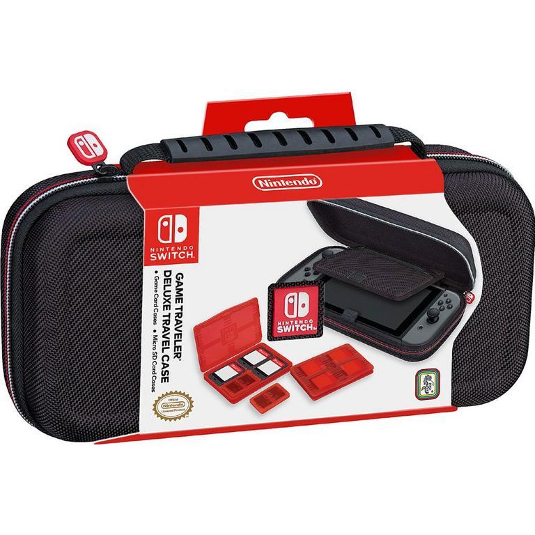 Black Game Traveler Deluxe Travel Case for Nintendo Switch
