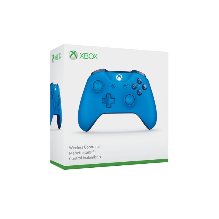 Microsoft Xbox One Blue Wireless Controller