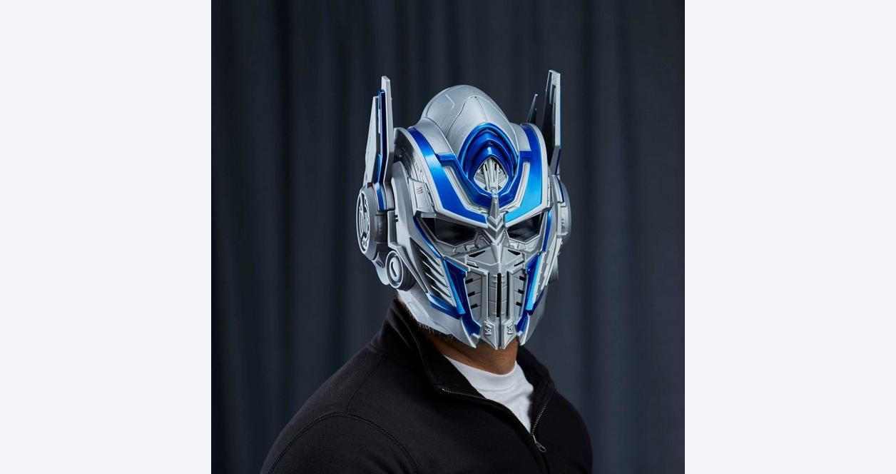 Transformers The Last Knight Optimus Prime Voice Changing Helmet