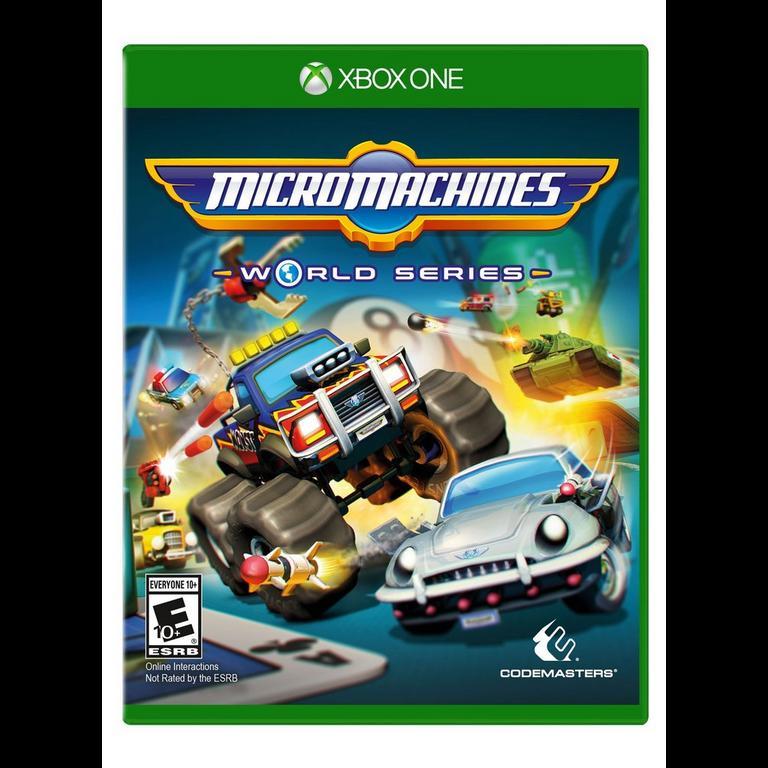 Micro Machines World Series Xbox One Gamestop