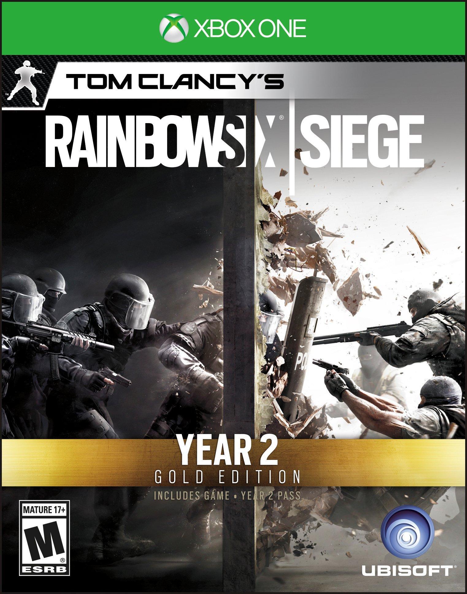 Tom Clancy's Rainbow Six: Siege Year 2 Gold Edition   Xbox One   GameStop