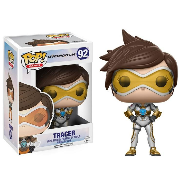 POP! Games: Overwatch - Tracer (Posh) - ThinkGeek Exclusive (Without Sticker)