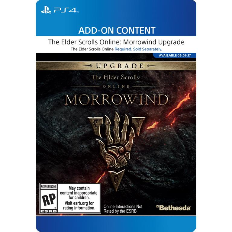 The Elder Scrolls Online Morrowind Digital Upgrade | PlayStation 4 |  GameStop