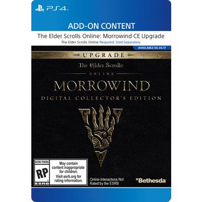 The Elder Scrolls Online Morrowind Digital Collector's Edition Upgrade
