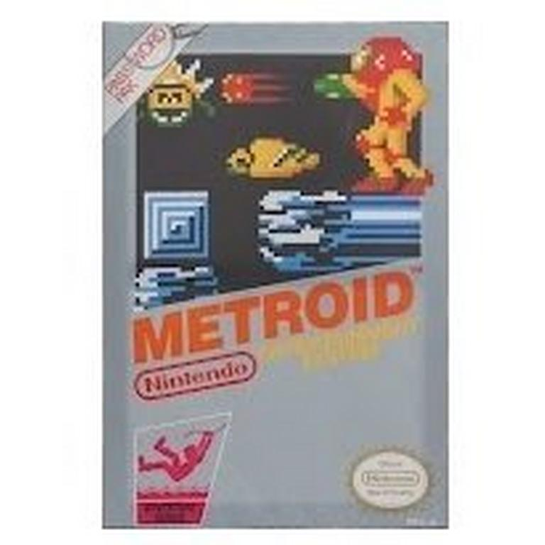 Classic NES Box Art - Metroid