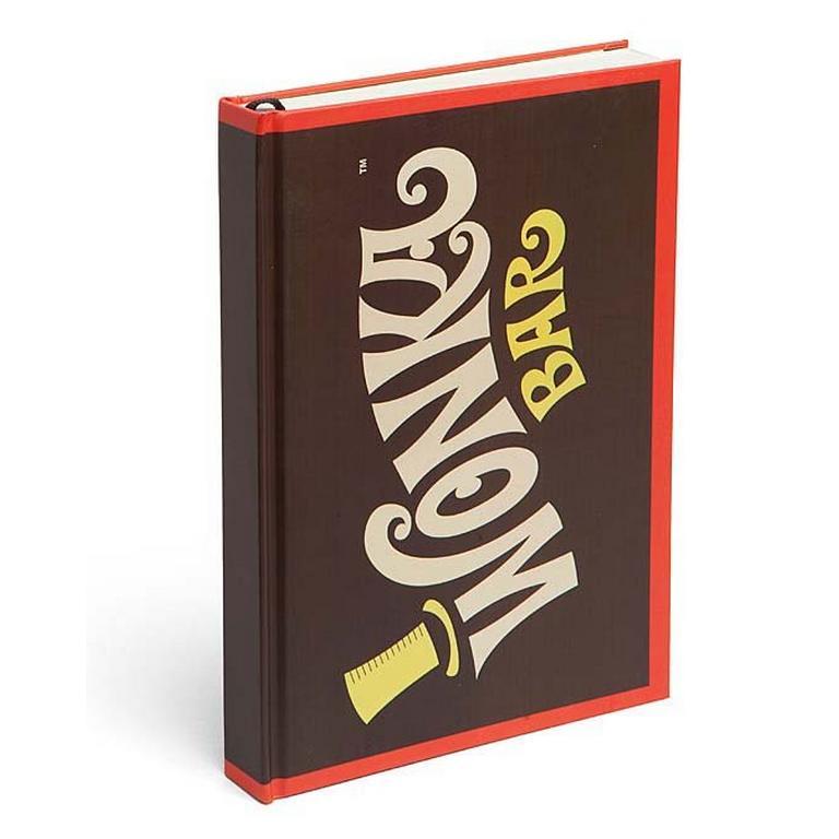 Willy Wonka Bar Journal - ThinkGeek Exclusive